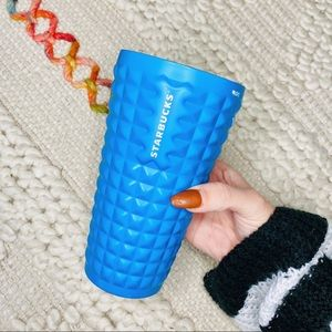 Starbucks Blue Studded 16oz Cold Cup Tumbler